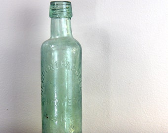 HEAVY antique U.K. beer bottle Newport Pagnell Brewery