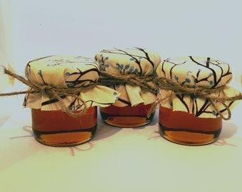 100 Honey Wedding Favors Rustic Barn Jar Fall