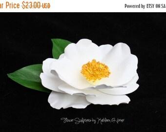 Camellia Sasanqua White Pin