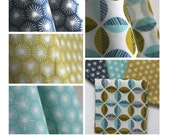 Organic Aubade ONE YARD BUNDLE From Cloud9 Fabrics  - Four Yards Total