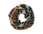 Child Plaid Scarf, Kid Scarf, Toddler Scarf, Girl Scarf, Child Infinity Scarf, Children's Clothing, Plaid Kid's Scarf, Ready To Ship