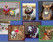 E Book of Knitting Patterns For Small Dogs - Instant Download Knitting E Book of 7 Patterns