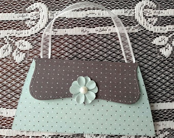 Purse gift card holder and purse money holder