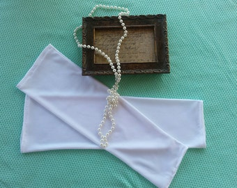 White fingerless Gloves, Sleeves to add to Gowns, Add on Sleeves, Photo Prop Sleeves