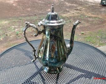 Vintage Silver Coffee pot, Coffee Pot,  silver coffee service circa 1900 by International Silver Company...