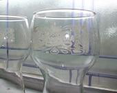 Pair of Vintage Pepsi Cola Glasses 1970s