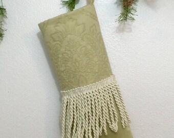 Extra Large Elf Shoe Style Christmas Stocking