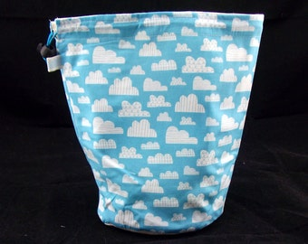Baby Clouds project bag