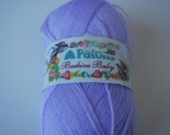 1 ball Patons Beehive Baby Lilac