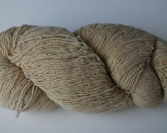 1 skein Fishermans wool yarn Chester Farms off white