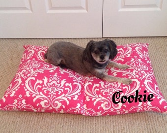 Dog Bed Cover - monogrammed - personalized - Ped Bed