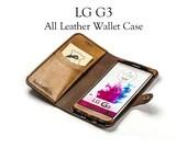 LG G3 Leather Wallet Case...