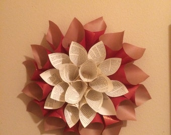 Large Paper Dahlia