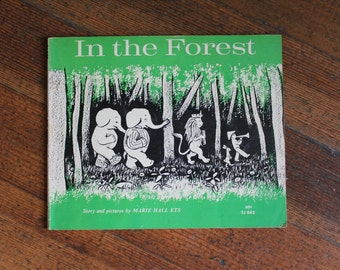 Vintage Children's Book -  In The Forest (Scholastic, 1969)