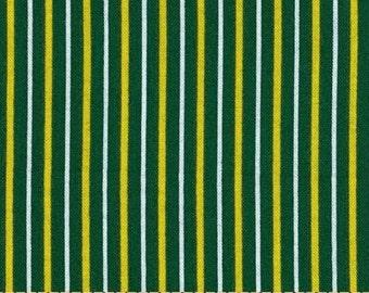 Wilmington Prints - Fan Tastic - Pinstripe Lemon/Lime