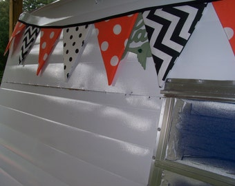 Vintage Camper Bunting Banners Shasta Airstream Scotty ETC