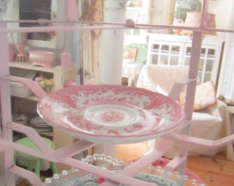 Vintage french pie plate holder  French  farmhouse Vintage  shabby chic farmhouse french