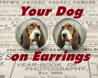 Custom Your Dog on Earrings