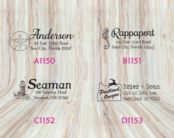 Custom Rectangle Address Stamps