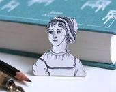 Jane Austen Brooch Pride and Prejudice Cute Brooch Geeky Pin Book Pin