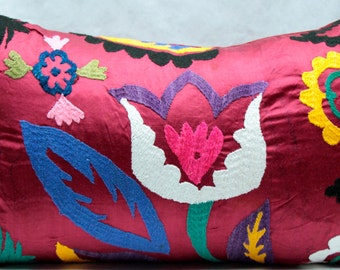 Tribal Tulip Pillow