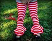 Holiday sale. Buy 2 get 1 FREE custom girl ruffled pants leggings sz NB-10