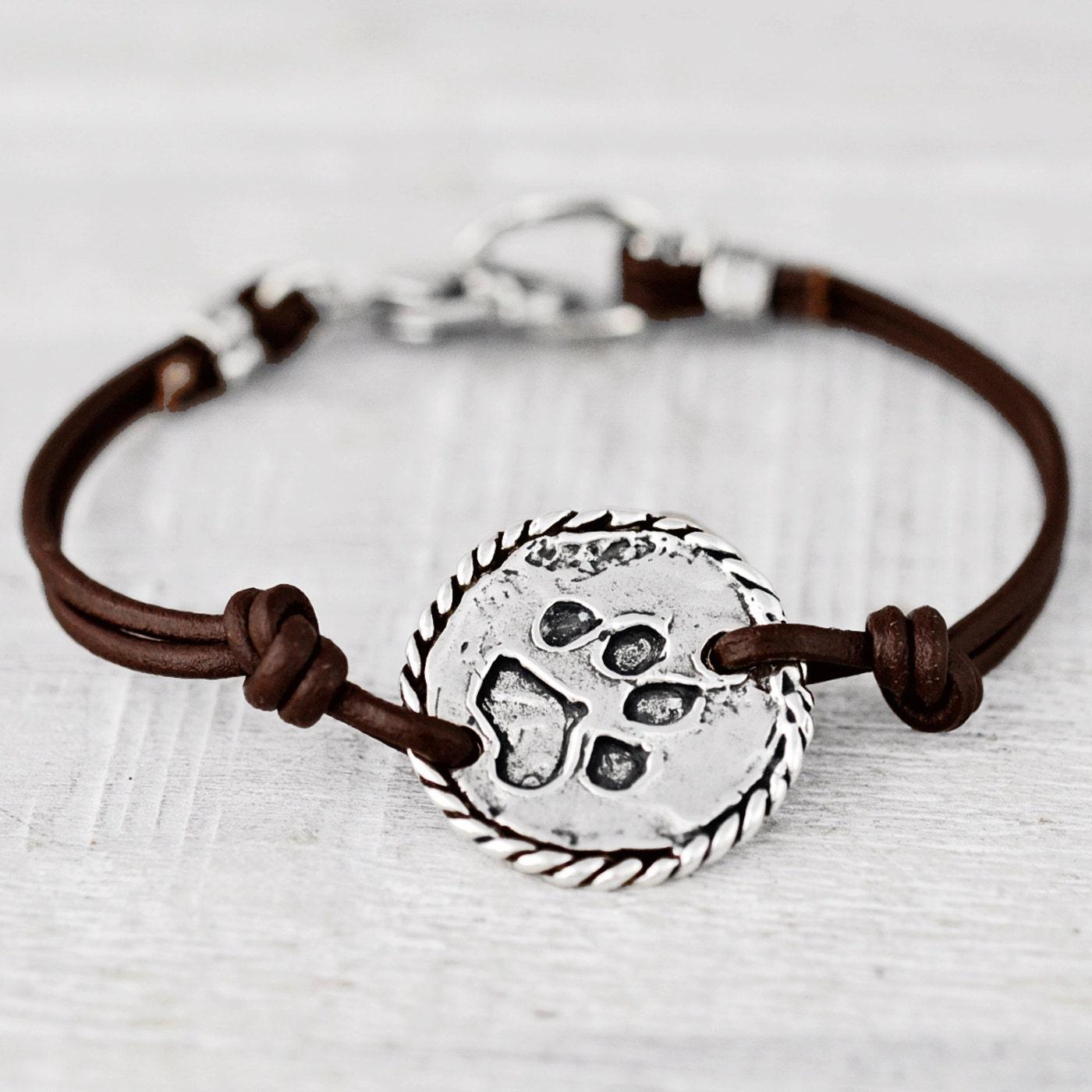 Love & Paws Bracelet Dog Paw Bracelet Puppy Jewelry B478