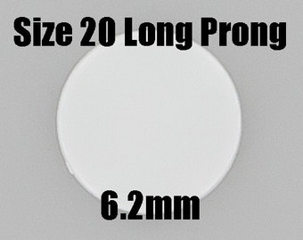 LONG PRONG - Size 20 - KAM Plastic Snaps for Cloth Diapers/Key Chains/Embroidery/Sewing