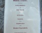 Materia Alchemia