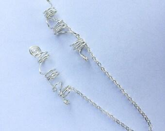 ACE Sterling Silver Swirl Loc Jewelry