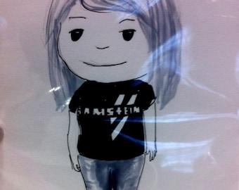 Personalised Cartoon Portraits