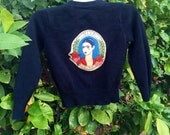 Frida Kahlo Toddler Girls Cardigan Sweater size 5 for Jovanni