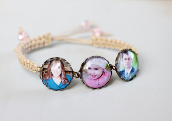 Custom Photo Bracelet - Personalized Jewelry - Picture Bracelet - Personalized Bracelet