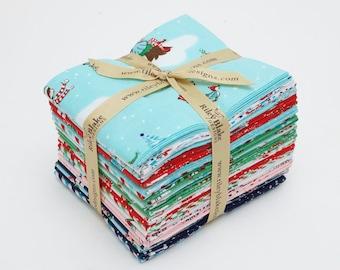 Pixie Noel - Fat Quarter Bundle - Tasha Noel for Riley Blake Designs - FQ-5250-21 - 21 Prints