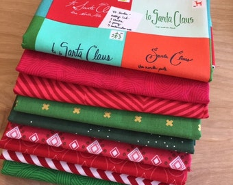 Christmas - Half Yard Bundle of 9 Prints