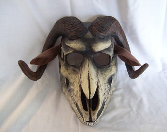 Sheep skull Halloween mask