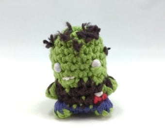 Zombie Mini Amigurumi Doll