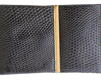 Vintage Animal Reptile Skin Wallet