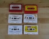 Vintage See Hear Read Cassette Lot