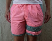 Vintage Hot Pink and Grey Shorts Pacific Coast Highway PCH Size 32