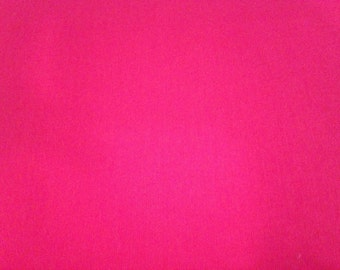Full Yard - Hot Pink Cotton Quilting Fabric By The Yard - One Yard Cut Hot Pink Cotton Fabric
