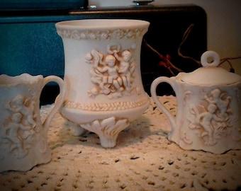 Antique Pottery Set