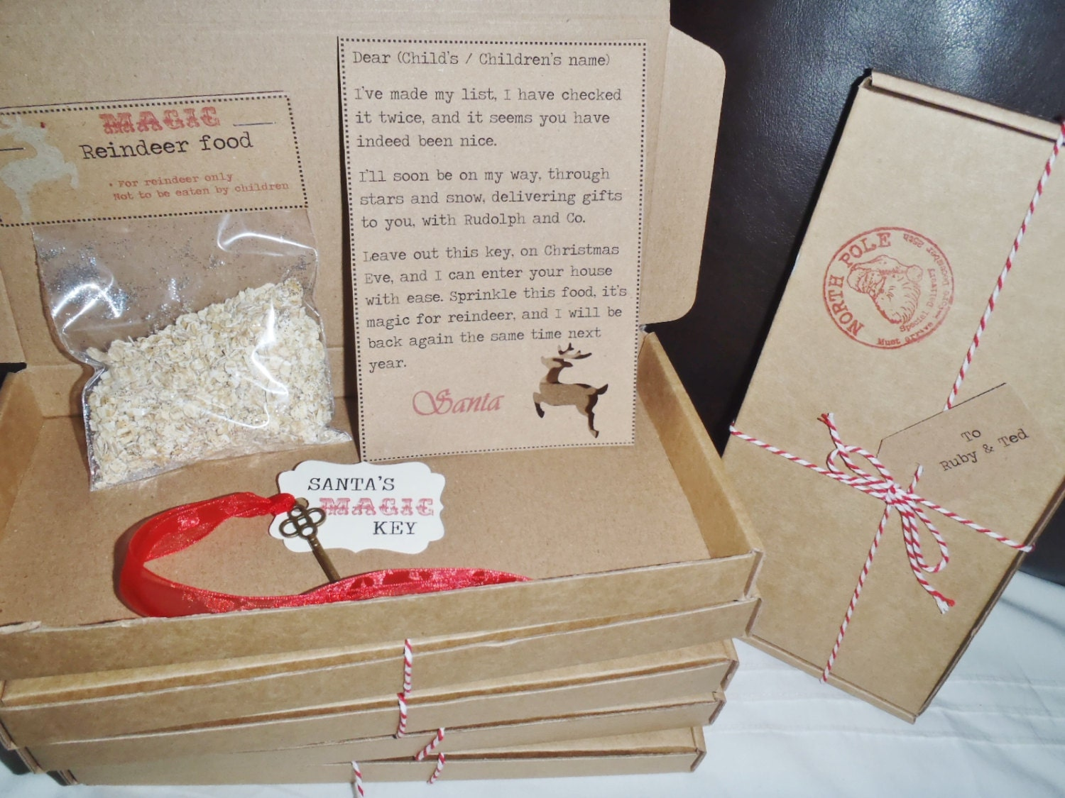 Personalized Letter From Santa With Reindeer Food  The Best Letter