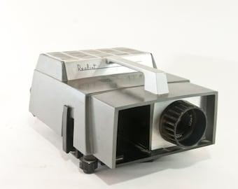 Vintage Realist Vista III Slide Projector, Vintage Silde Projector