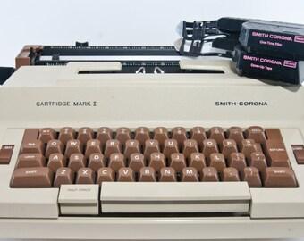 Vintage Typewriter, Smith Corona Electric Typewriter, Portable Typewriter, Retro Office, Vintage Electric Typewriter