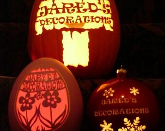 Custom Pumpkin Carvings