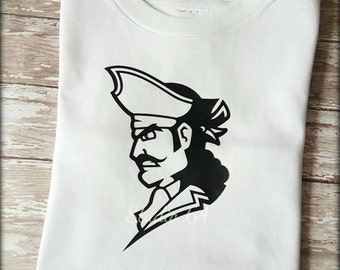 Pirate Bodysuit Boys, trendy, ahoy, pirate ship, made to order, party, top, black beard, hipster, treasure