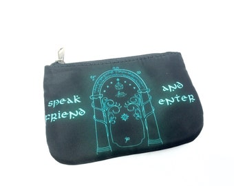 Lord of the Rings Doors of Durin pouch or coin purse