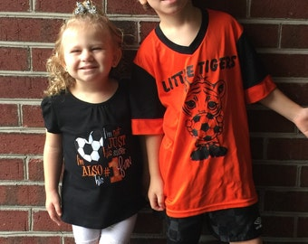 Im not just his sister --- soccer shirt
