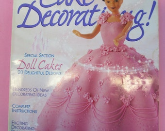 Diy 2002 Wilton Yearbook Cake decorating back issue magazine  used fair condition